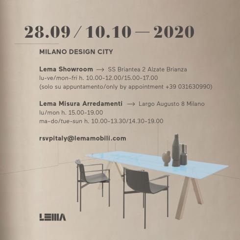 Lema@Milano Design City 2020