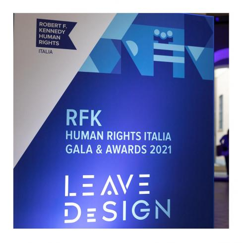 LEMA para la subasta benéfica «Leave DeSign» de RFK Italia